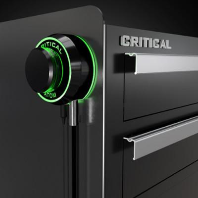 Блок Critical Atom - Черный