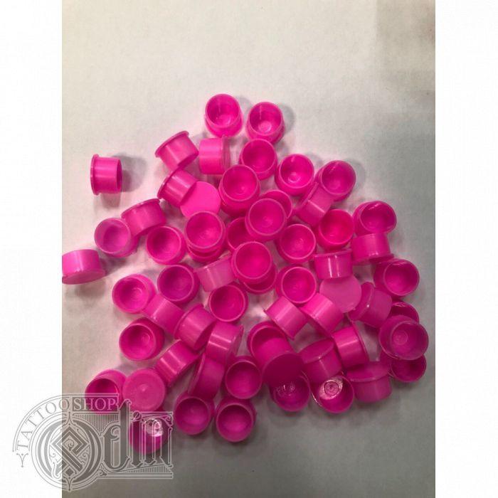 """Колпачки под краску (c подставкой) """"Розовые"""" Средний  размер #12"""