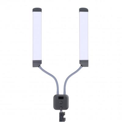 Лампа с двойной системой освещения