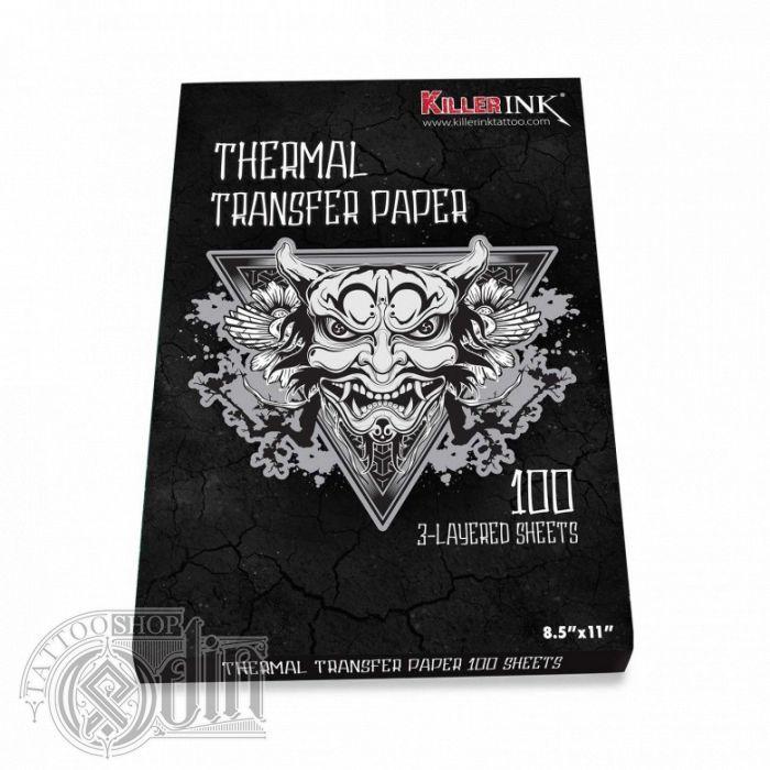 Killer Ink - трансферная бумага для термопринтера