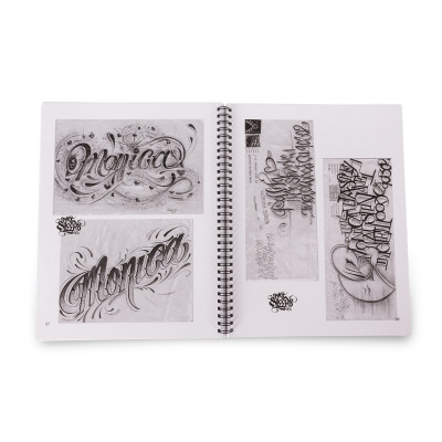Letters to Live By: Lettering Reference Guide Volume 1 by Big Sleeps