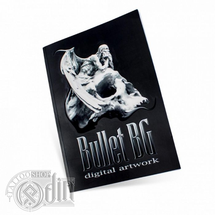 Bullet BG - Digital Artwork Book