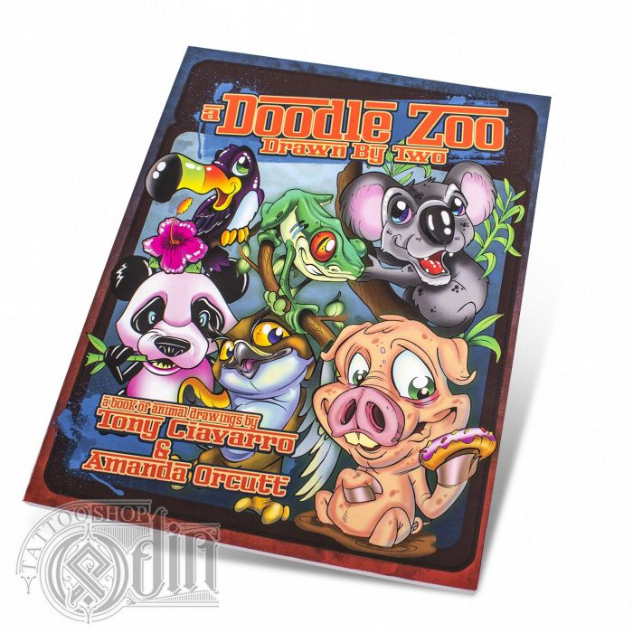 Tony Ciavarro & Amanda Orcutt (Stinky Monkey Publisher) - A Doodle Zoo Book