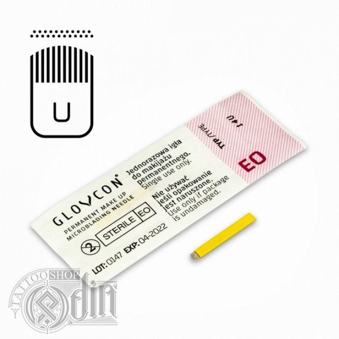 "GLOVCON® Иглы для микроблейдинга ""U""-Soft Edge Magnum"