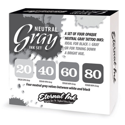 Eternal Neutral Gray Ink Set