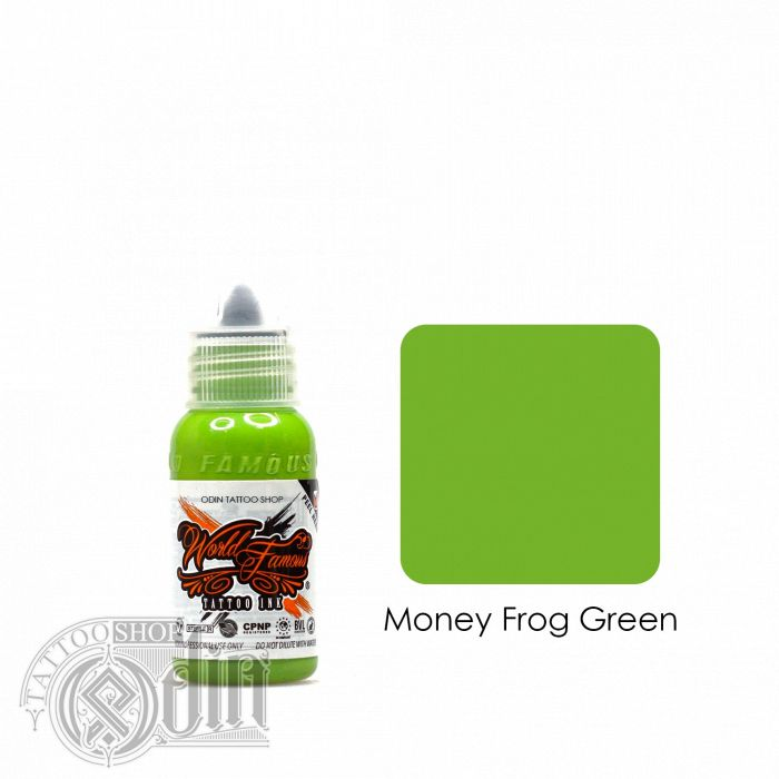 Money Frog Green