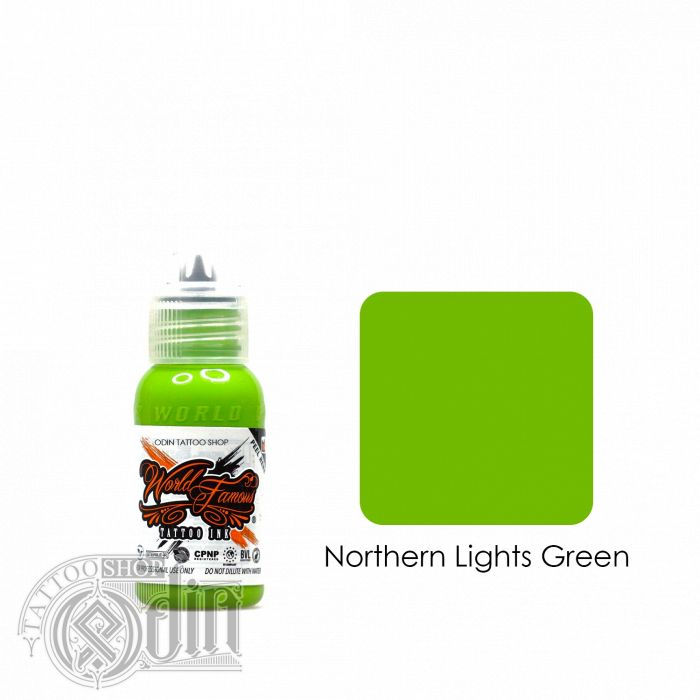 Northern Lights Green