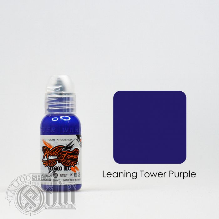 Leaning Tower Of Purple
