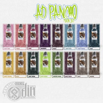 A.D. Pancho Proteam Color Set