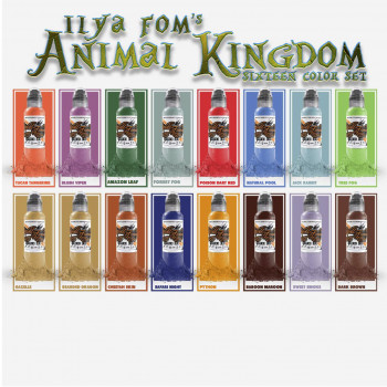 Ilya Fom's Animal Kingdom Color Set