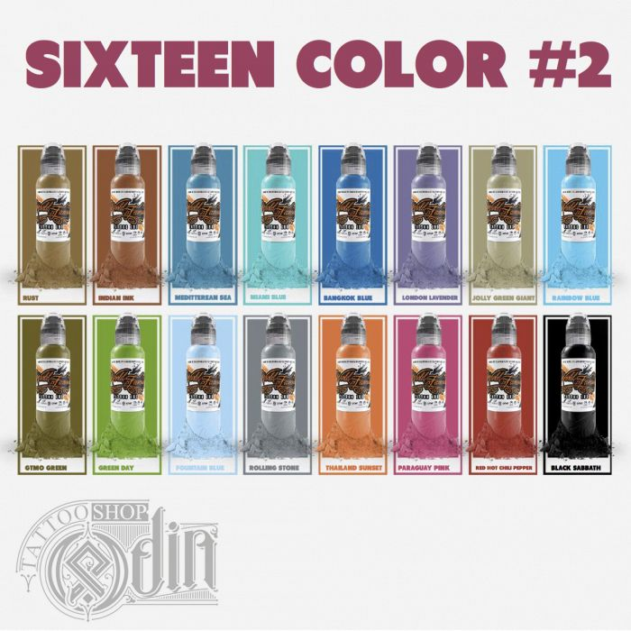 Sixteen Color Ink Set #2