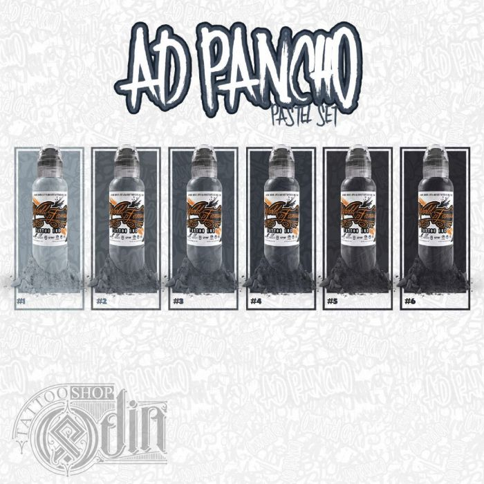 A.D. Pancho Pastel Grey Set (4oz)