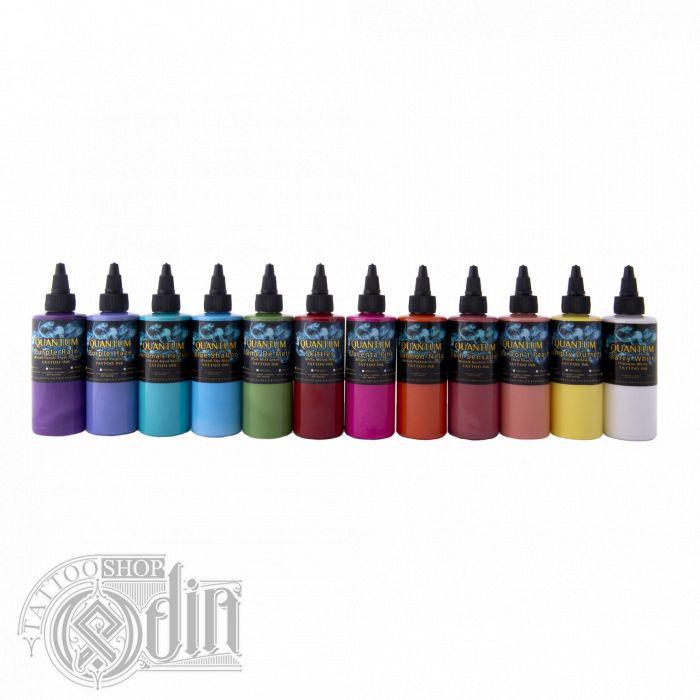 Quantum Pastel Tattoo Ink Set 12 Colors